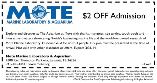 Mote Marine Coupon
