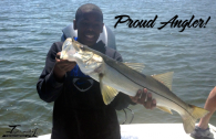 Begginer Angler Catches a Snook