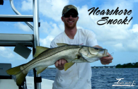 Capt. Elliott Taylor Lands Gorgeous Snook Nearshore